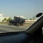 Bahrain - Military Patrol
