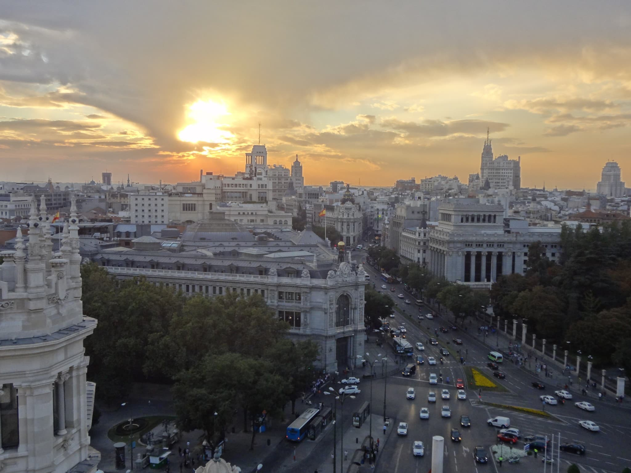 Spain - Madrid - Square Cibeles
