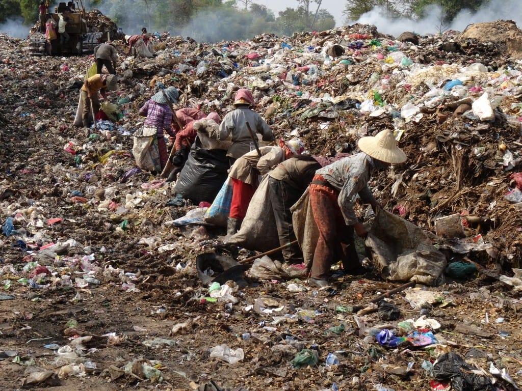 Cambodia - Poverty Garbage Belt