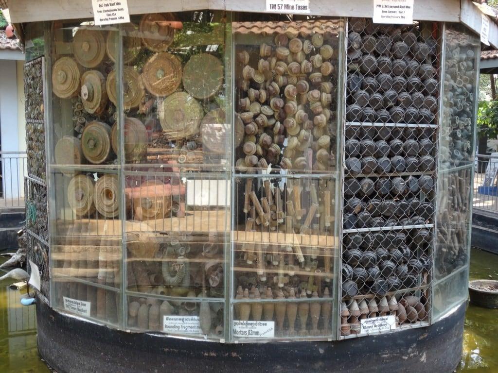 Cambodia - Landmine Museum