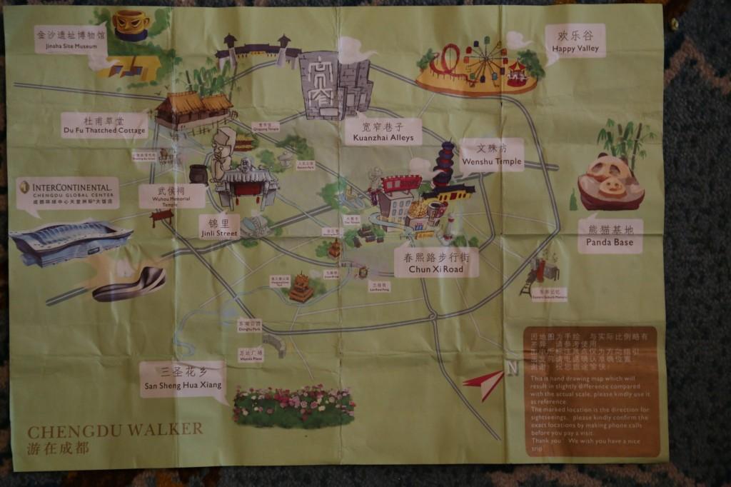 China - Chengdu - City Map