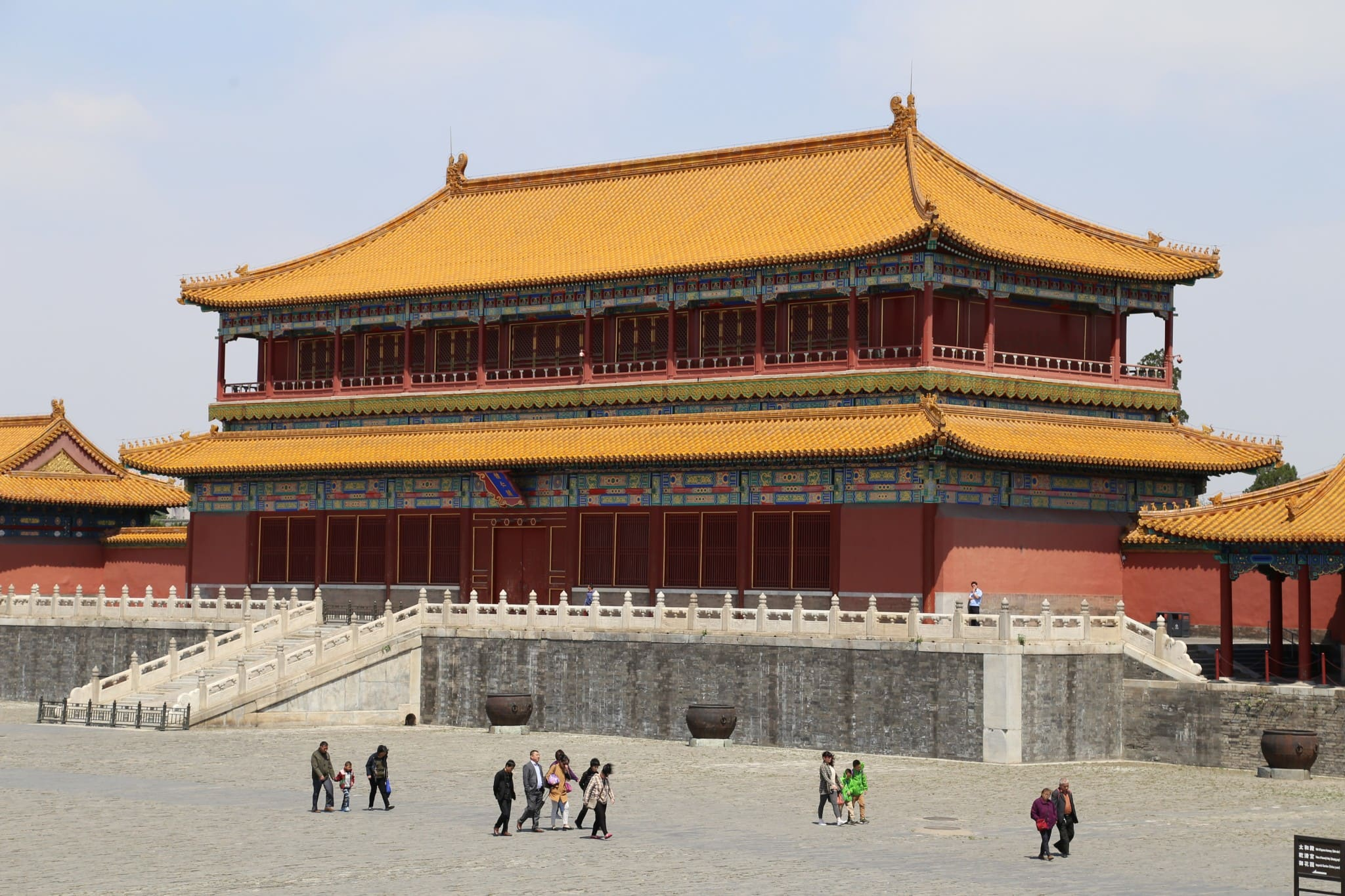 The Forbidden city Chinese imperial palace loacted in the ...  |Imperial Palace Forbidden City Beijing China