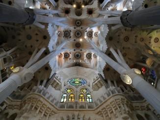 Barcelona - Sagrada Familia Interior Gaudi