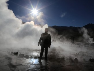 Photo of Chris W. at El Tatio Geysers
