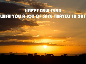 Chris Travel Blog Happy New Year