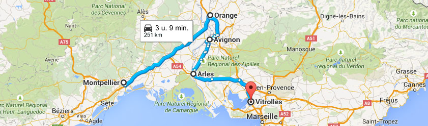 South france road trip itinerary leg 3 montpellier for Travel south of france