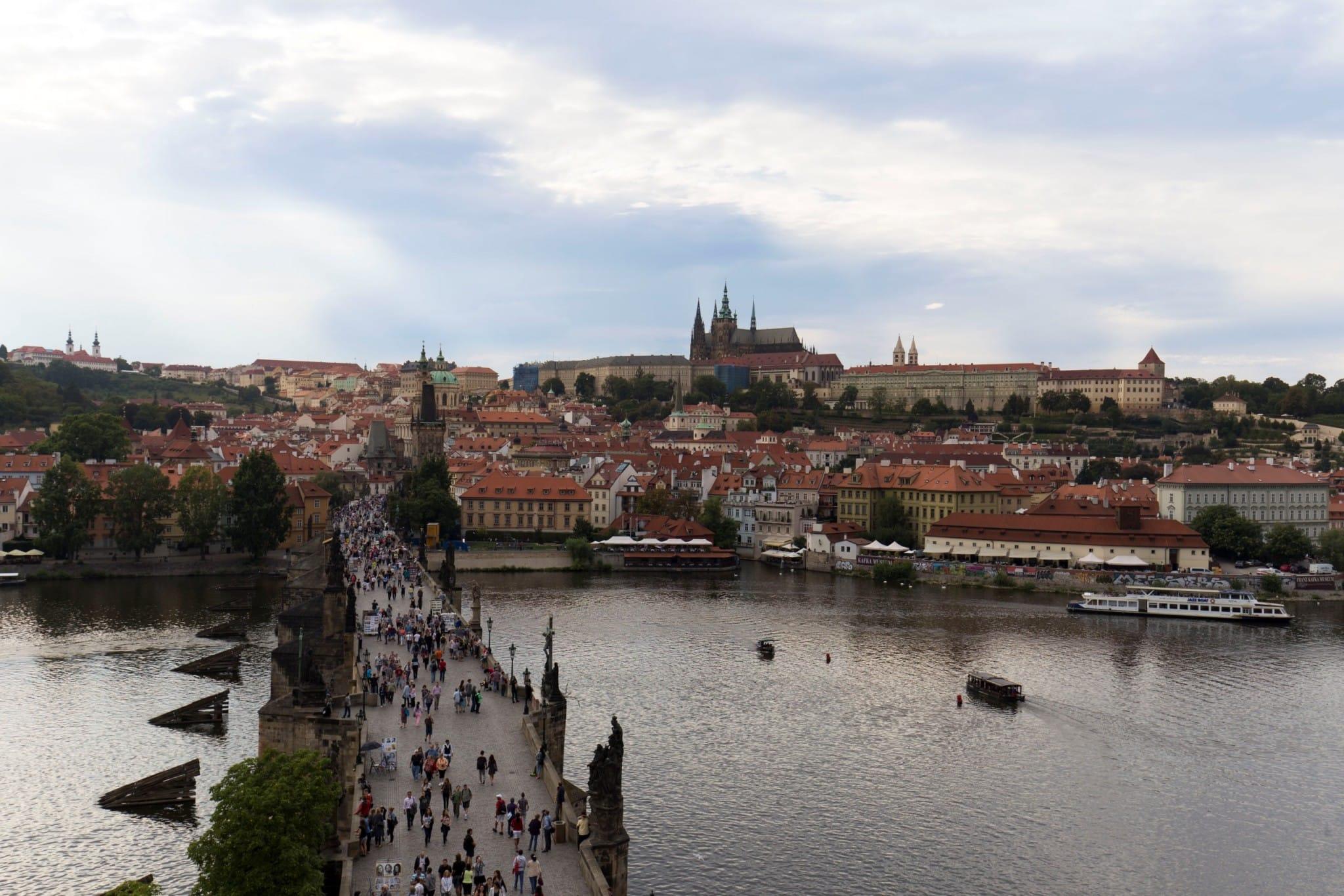 CZECH - A day trip city walk in Prague