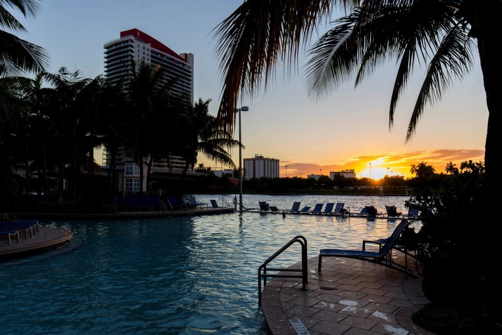 Usa Crowne Plaza Hollywood Beach A Luxury Tropical