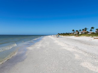 USA - Beautiful white beaches and wildlife at Sanibel Island in Florida