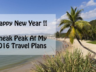 Chris Travel Blog Travel Plans 2016