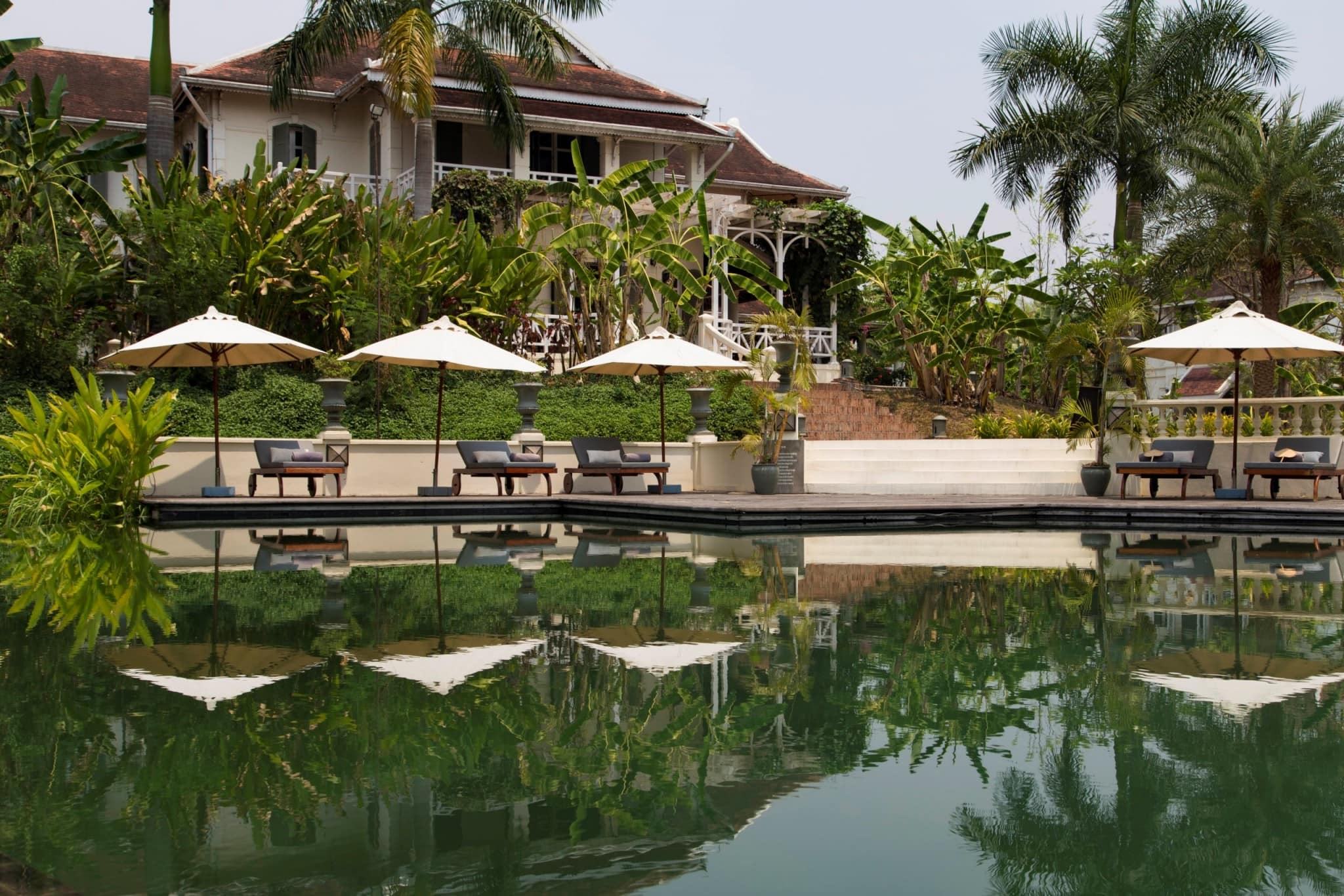 Laos luang say residence luang prabang a small luxury for Luxury hotels in laos