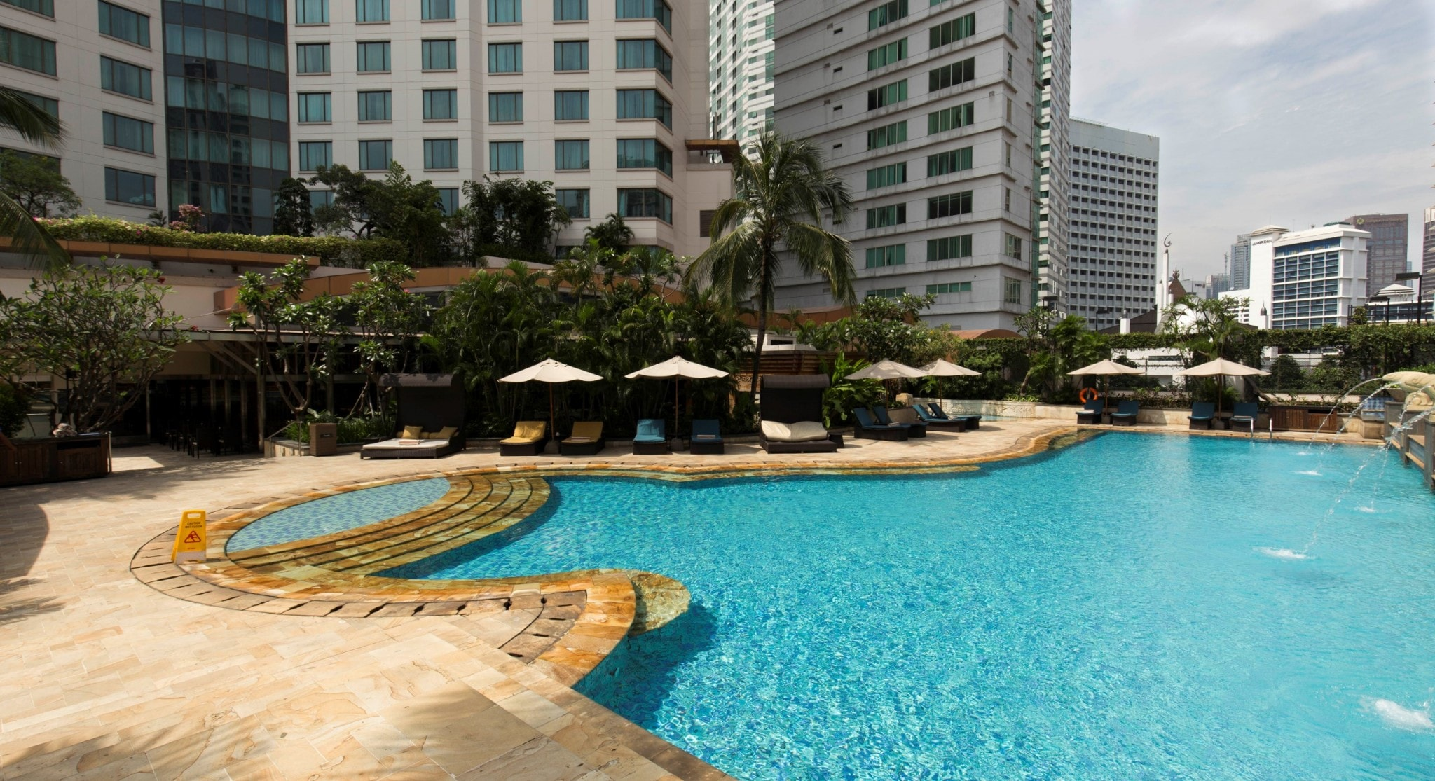 INDONESIA - Intercontinental Jakarta Midplaza; a central luxury business & leisure hotel