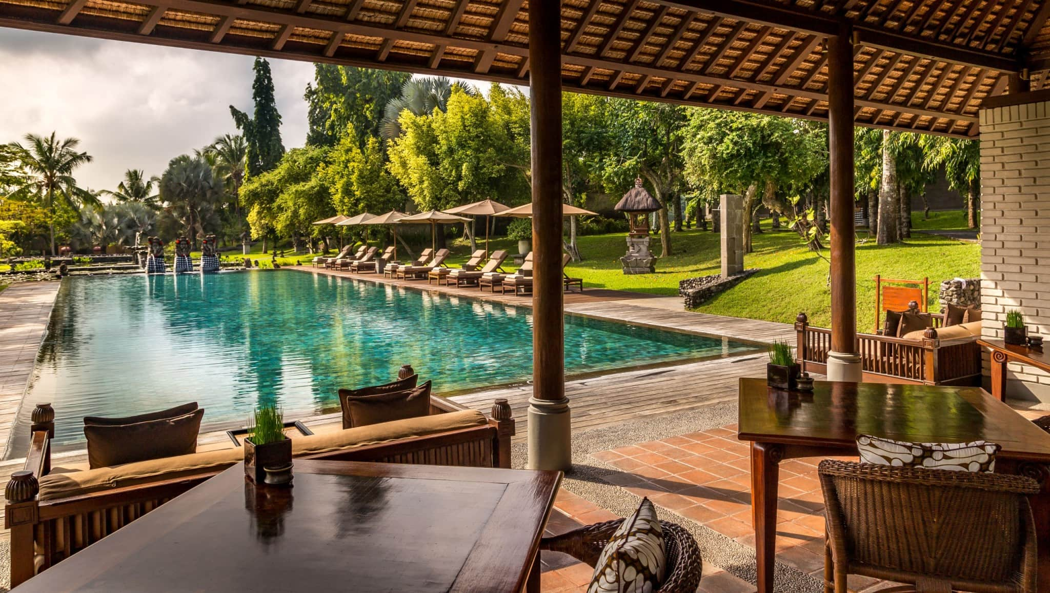INDONESIA - The Chedi Club offers ultimate private luxury between Ubud's rice fields