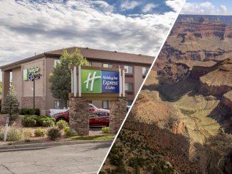 USA - Visit the Grand Canyon? Stay at the Holiday Inn Express Hotel
