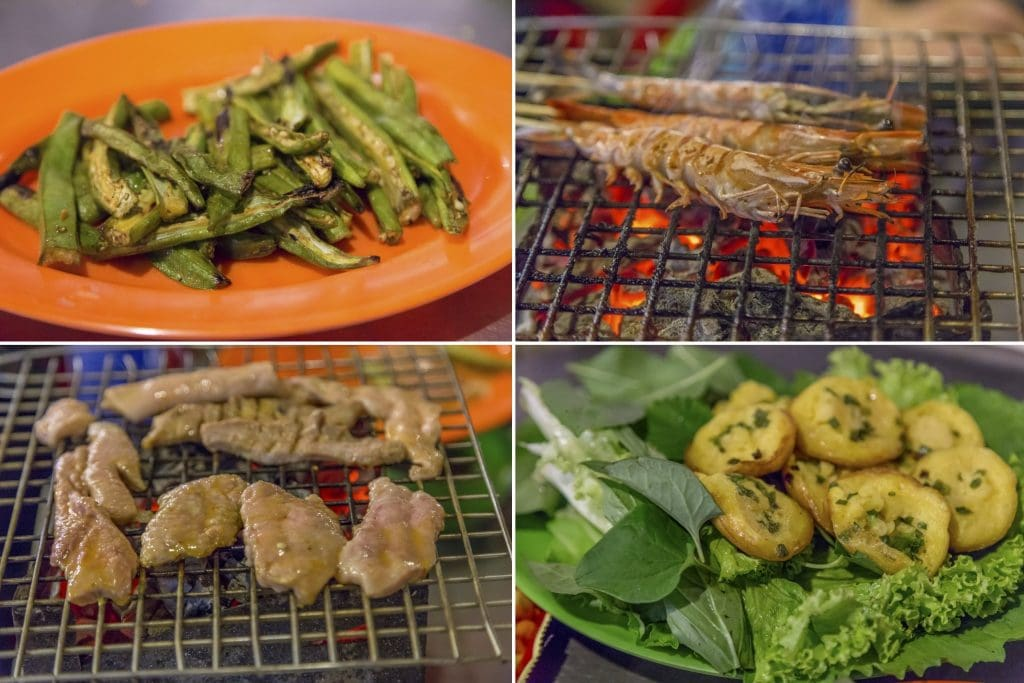 VIETNAM - Ho Chi Min City food tour on a motorbike; delicious street food