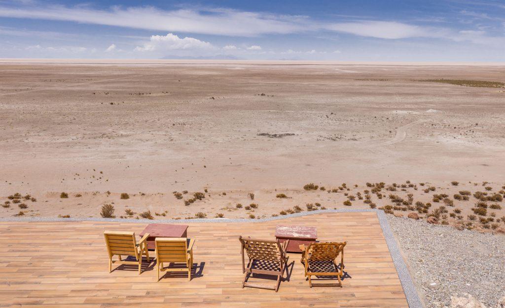 BOLIVIA - Luna Salada Salt Hotel offers luxury at the Salar de Uyuni