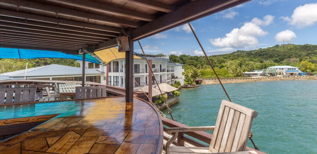 MICRONESIA FSM - Manta Ray Bay Resort Yap offers luxury on remote Yap Island