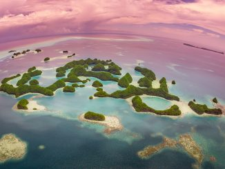 PALAU - Must do: Palau helicopter tour; a bird's eye view of paradise island