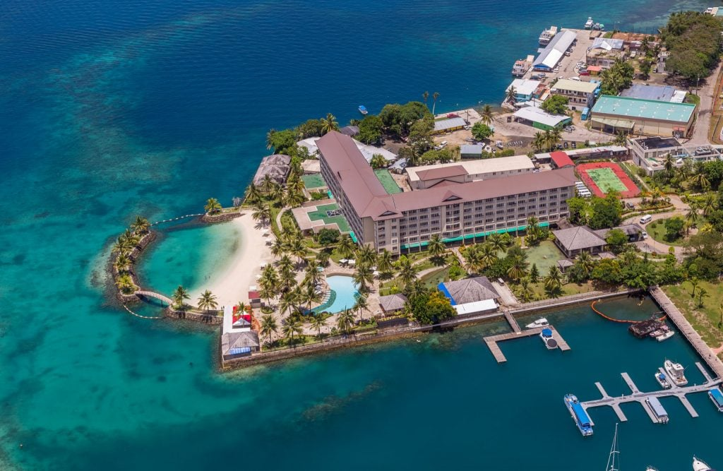 PALAU - Palau Royal Resort is the luxury hotel to stay on this paradise island