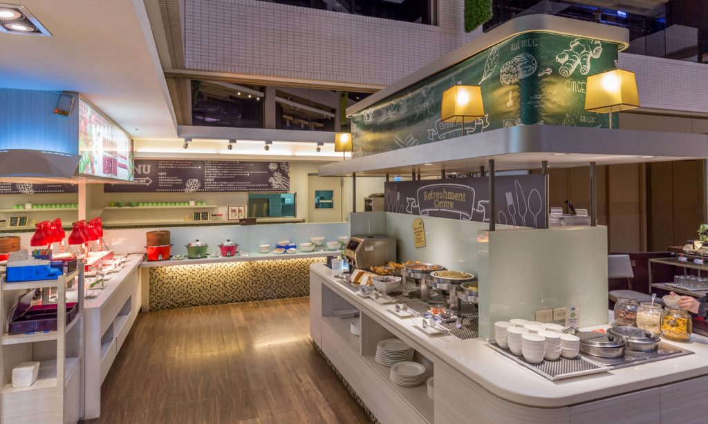 TAIWAN - Stay downtown Taichung, stay at Holiday Inn Express Taichung Park