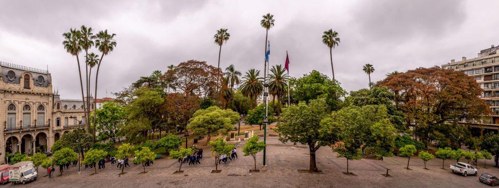 Salta Plaza 9 Julio - ARGENTINA - The northwest; best 7-day Salta itinerary including Jujuy