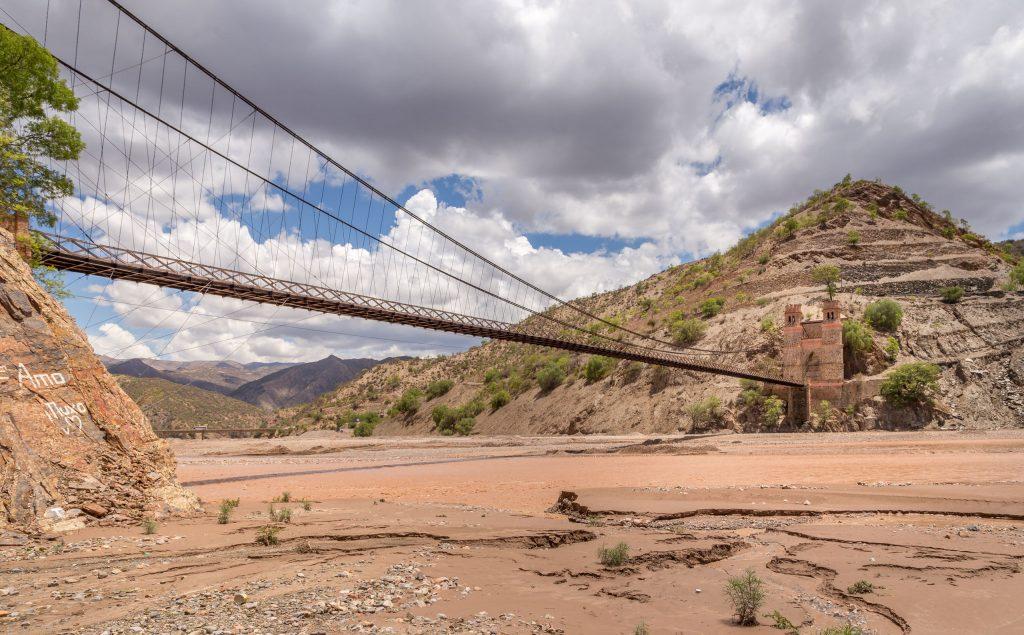 Gran Mariscal Antonio Jose de Sucre Suspension Bridge - BOLIVIA - Amazing 10-day Bolivia itinerary to Sucre & the Altiplano