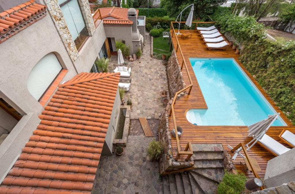 Birds View Garden Pool - ARGENTINA - In Salta, Kkala Boutique Hotel is the place to stay