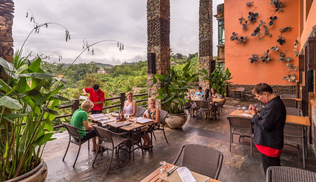 Breakfast with a view - THAILAND - Katiliya Mountain Resort & Spa offers luxury north of Chiang Rai