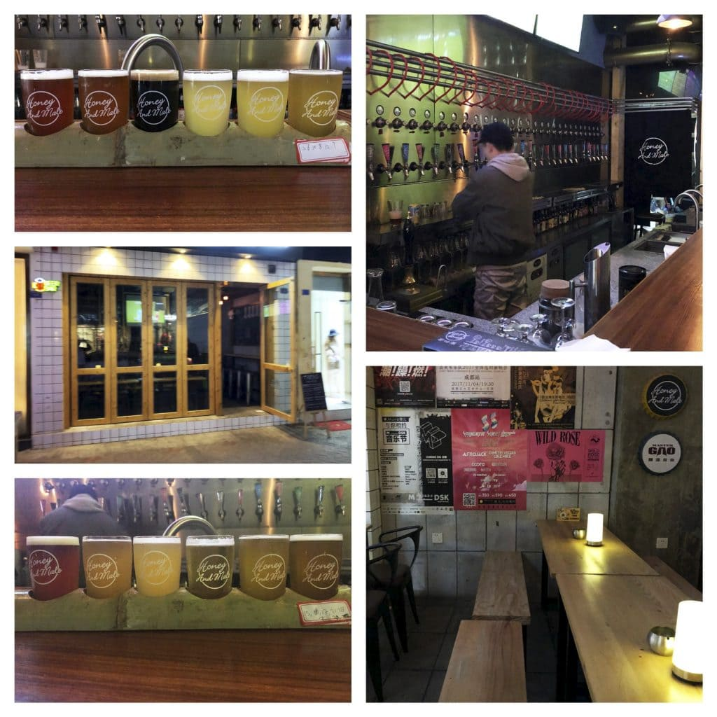 Honey and Malt - CHINA - Chengdu craft beer bars; my personal hotspots