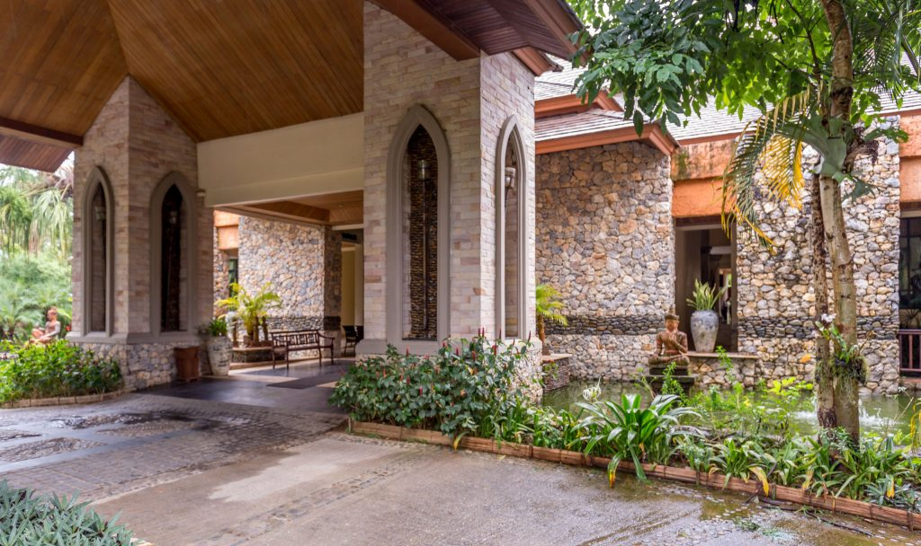 Lobby Entrance - THAILAND - Katiliya Mountain Resort & Spa offers luxury north of Chiang Rai