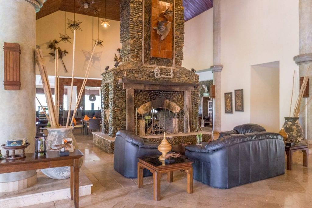 Lobby Lounge - THAILAND - Katiliya Mountain Resort & Spa offers luxury north of Chiang Rai