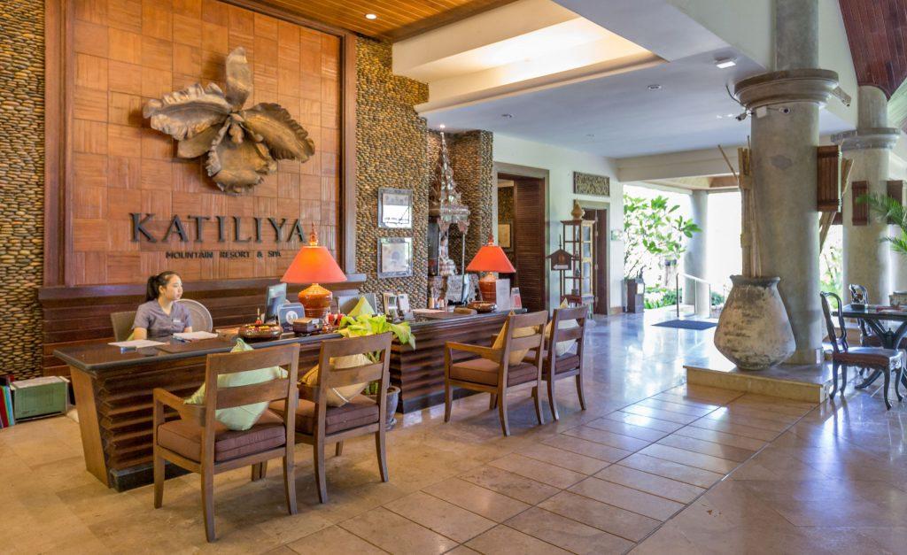 Lobby Reception - THAILAND - Katiliya Mountain Resort & Spa offers luxury north of Chiang Rai