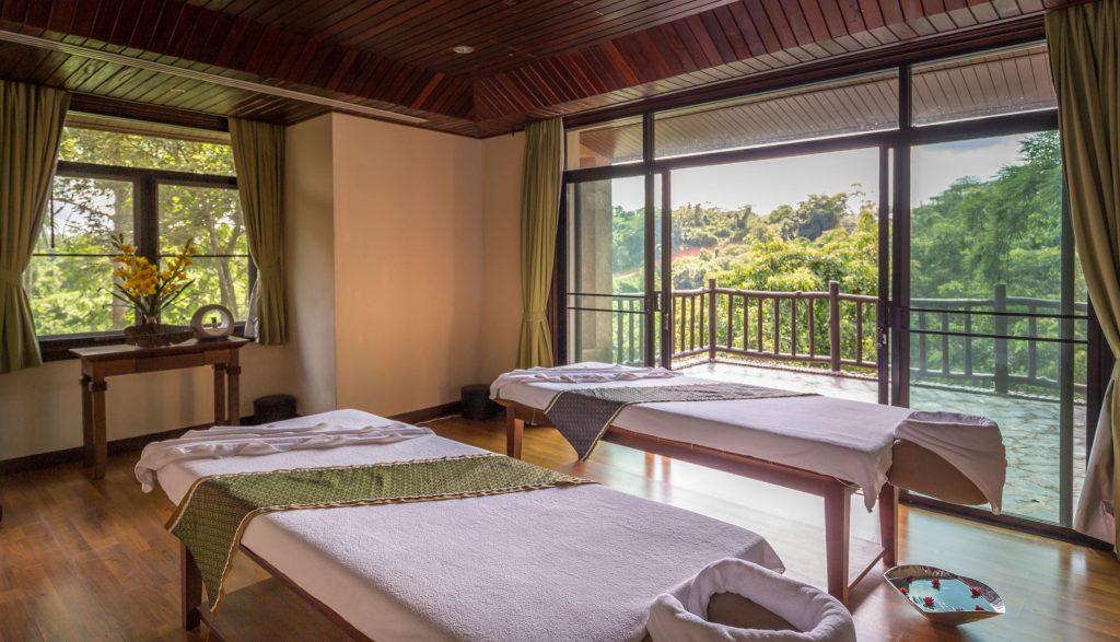 Spa treatment room - THAILAND - Katiliya Mountain Resort & Spa offers luxury north of Chiang Rai