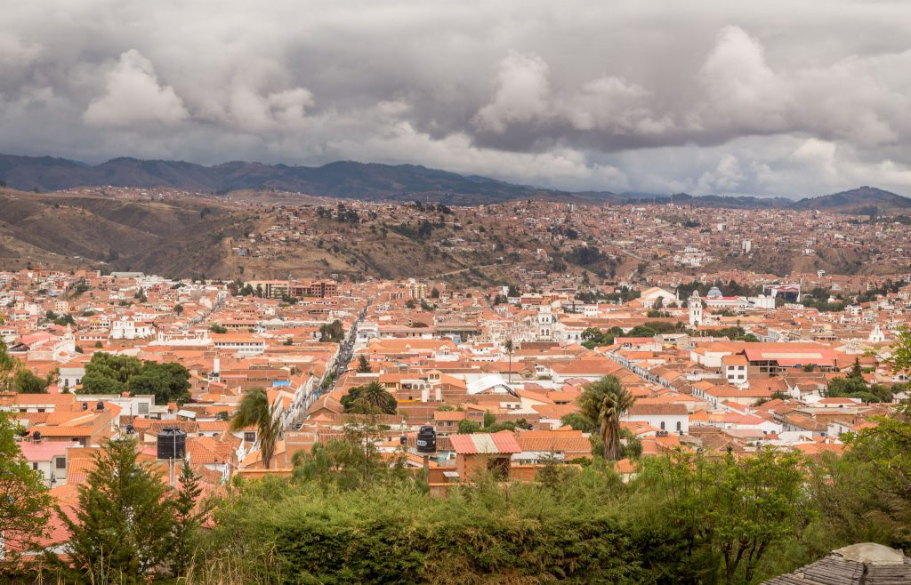 Sucre city view - BOLIVIA - Amazing 10-day Bolivia itinerary to Sucre & the Altiplano