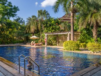 Tropical Pool - THAILAND - Katiliya Mountain Resort & Spa offers luxury north of Chiang Rai