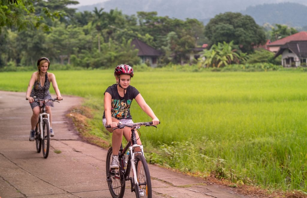Bike ride - THAILAND - Four Seasons Chiang Mai: A luxury treasure in the Mae Rim Valley