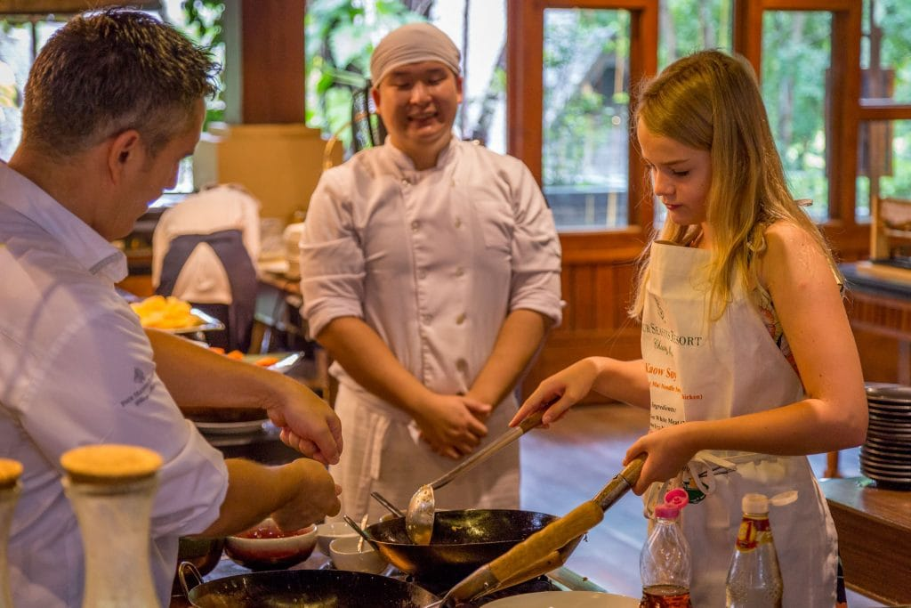 Cooking Breakfast - THAILAND - Four Seasons Chiang Mai: A luxury treasure in the Mae Rim Valley