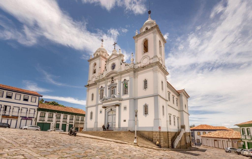 Diamantina Cathedral - BRAZIL - A 5-day Minas Gerais itinerary: Belo Horizonte, Ouro Preto & Diamantina