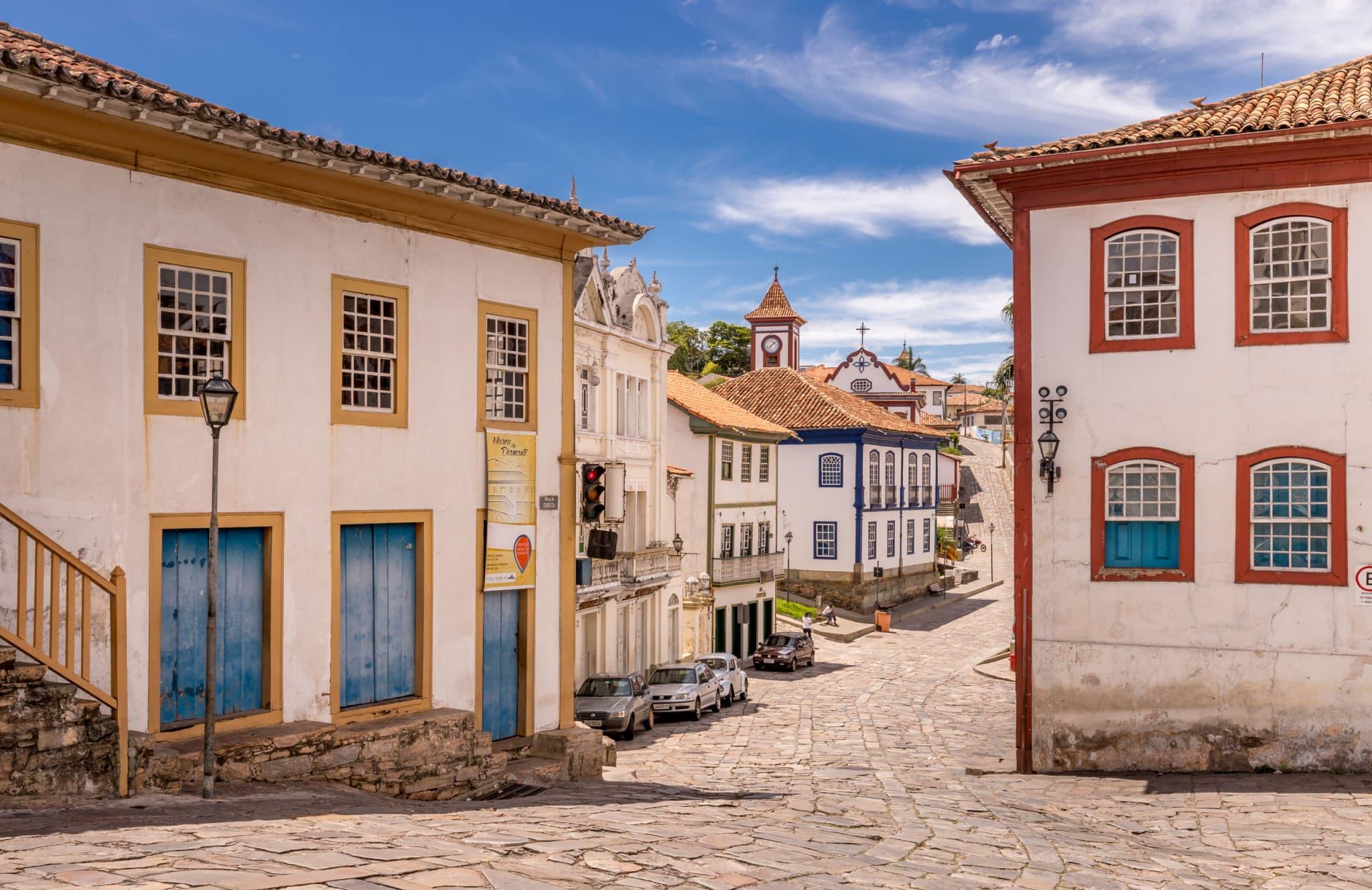 Diamantina Cobble Stone Street - BRAZIL - A 5-day Minas Gerais itinerary: Belo Horizonte, Ouro Preto & Diamantina