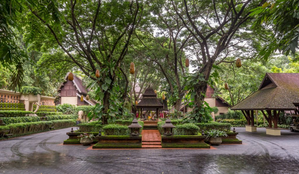 Entrance - THAILAND - Four Seasons Chiang Mai: A luxury treasure in the Mae Rim Valley