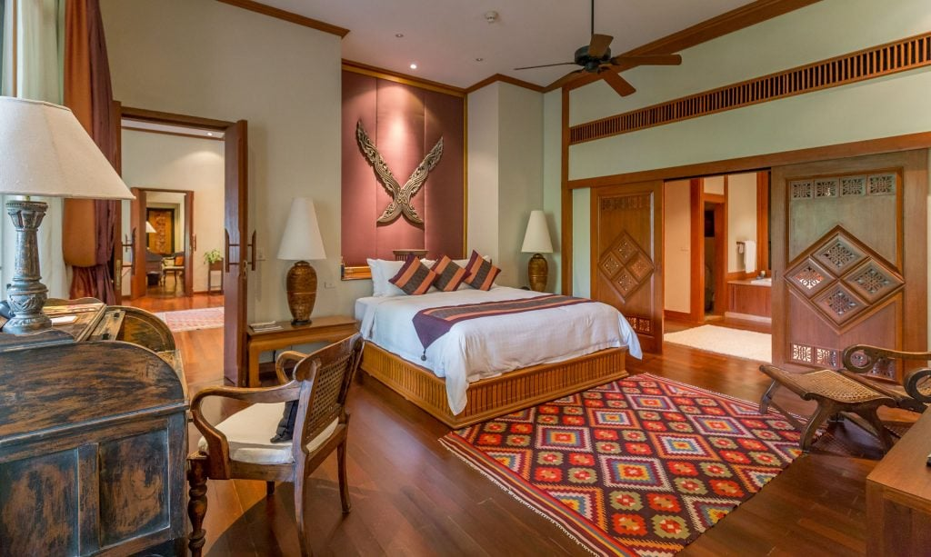 King bedroom - THAILAND - Four Seasons Chiang Mai: A luxury treasure in the Mae Rim Valley