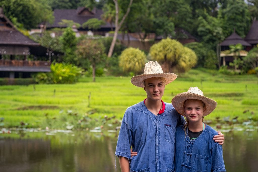 My 2 rice farmers - THAILAND - Four Seasons Chiang Mai: A luxury treasure in the Mae Rim Valley