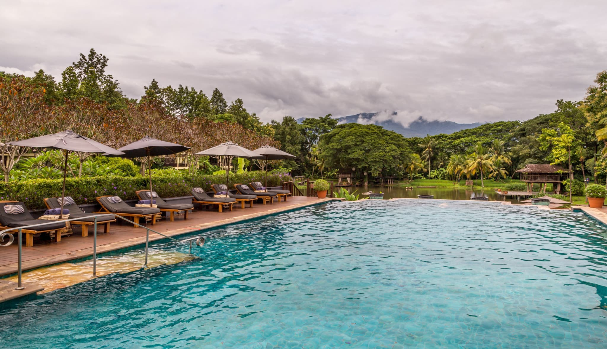 Swimming Pool THAILAND Four Seasons Chiang Mai A
