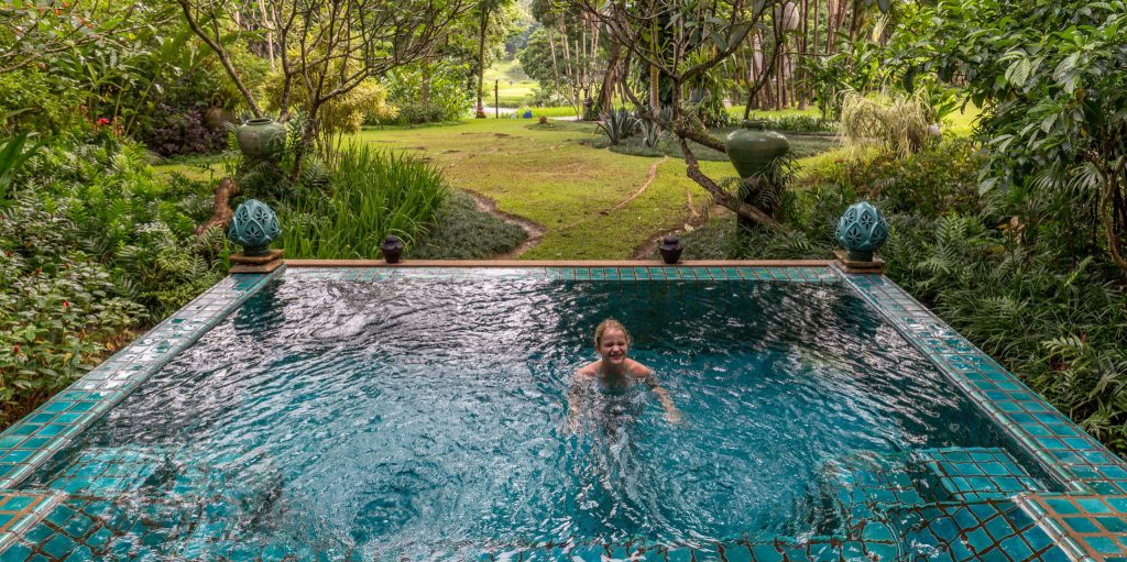 Private plunge pool - THAILAND - Four Seasons Chiang Mai: A luxury treasure in the Mae Rim Valley
