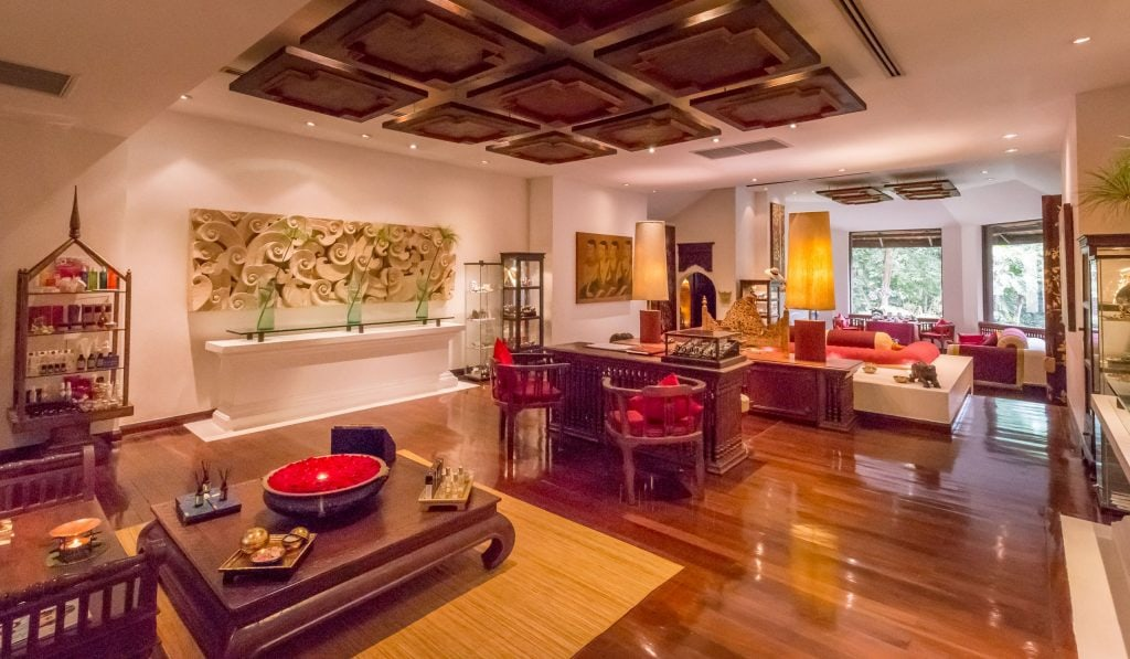 Spa lobby - THAILAND - Four Seasons Chiang Mai: A luxury treasure in the Mae Rim Valley