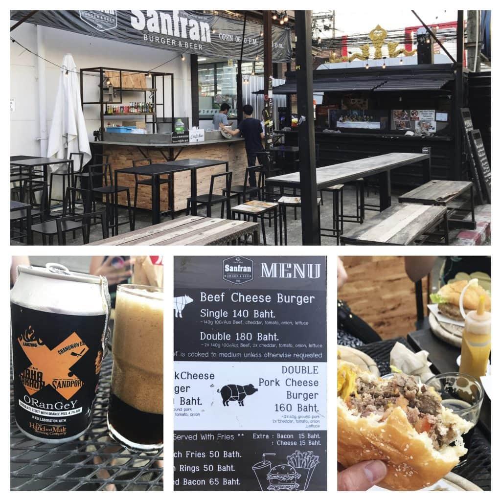 Safran Burgers - THAILAND - My personal favorite Chiang Rai & Chiang Mai craft beer bars