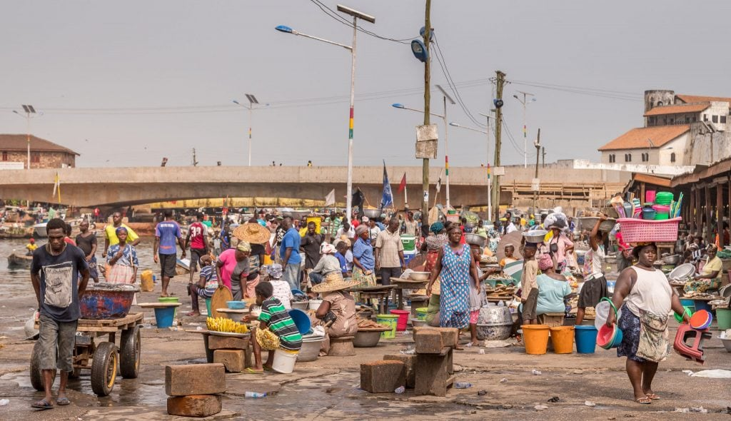 Elmina Fish Market - GHANA - The perfect one-week Ghana itinerary exploring West Africa's Gold Coast