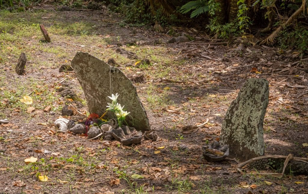 Chief Roi Matas Domain Grave Hat Island - VANUATU - 7 days in Vanuatu itinerary: travel guide, tips & inspiration