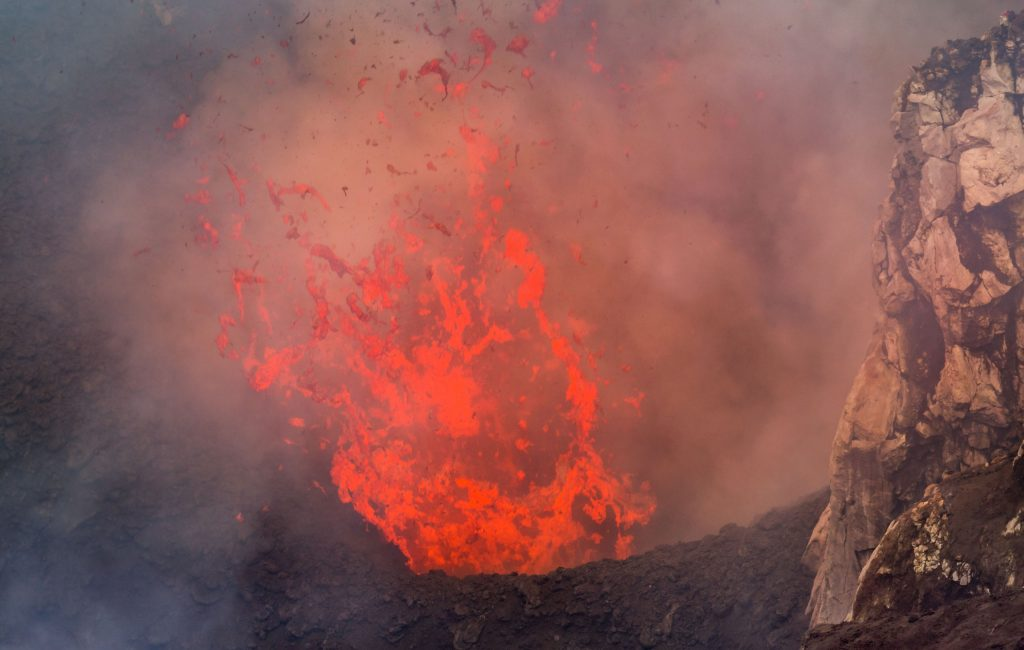 Tanna Volcano Eruption - VANUATU - 7 days in Vanuatu itinerary: travel guide, tips & inspiration