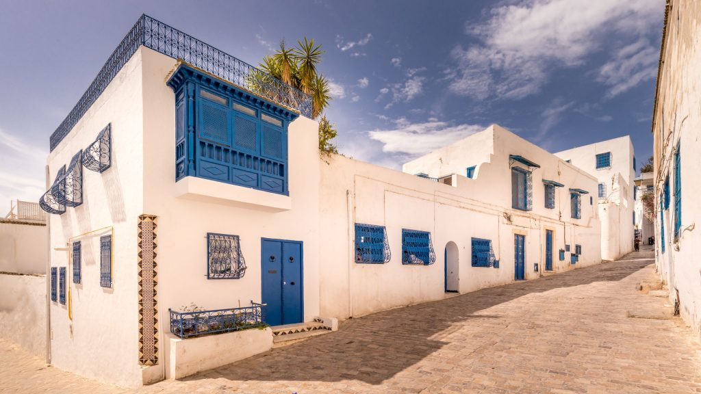 Sidi Bou Said - TUNISIA - A two week Tunisia itinerary: a road trip to all the highlights